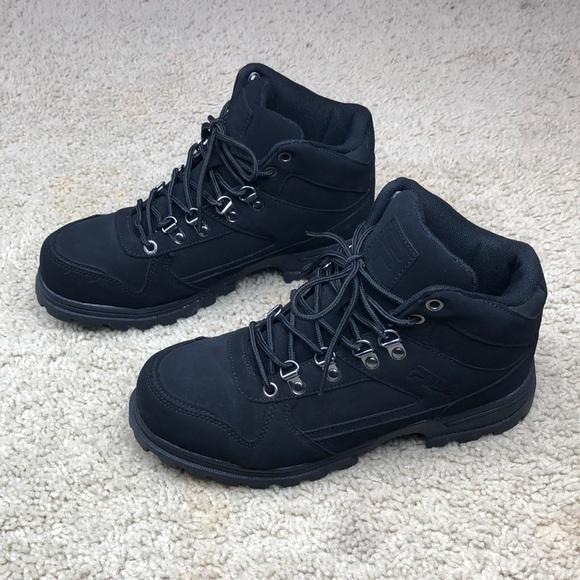 4e010a43 New! FILA Black Boots Women's Size 9.5 NWT